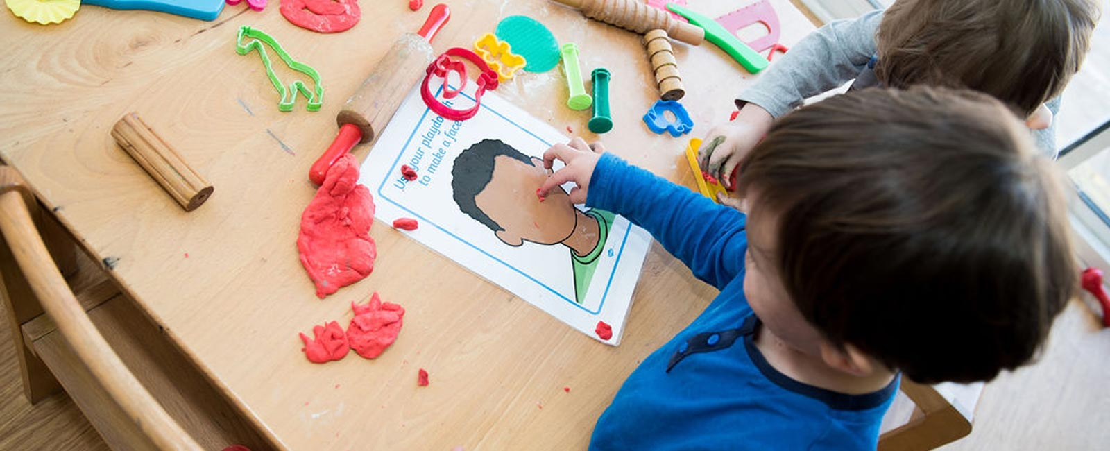 Our learning and development programmes are customised for each individual child.