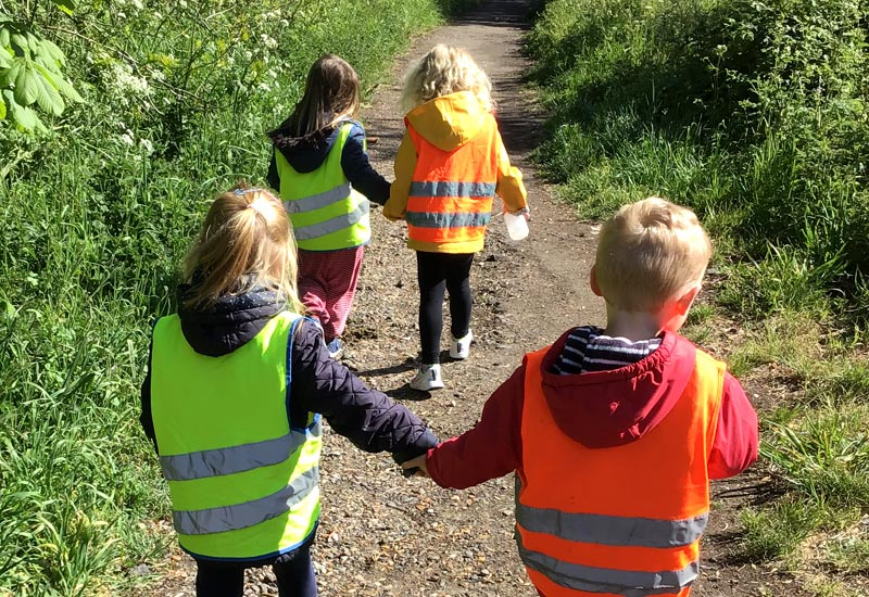 Forest School helps children develop self-confidence and independence and to improve decision-making & appraisal of risk factors.